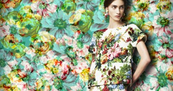 Dolce-and-gabbana-FW-2014-womenswear-collection-flower-and-fruit-print-dress-new