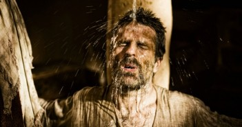 Scene 10/32 - Int Damascus House Small room; Ananias (NICK MOSS) baptizes Paul (CON O'NEIL).