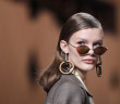 A model wears a creation as part of the Fendi women's Fall/Winter 2018-2019 collection, presented during the Milan Fashion Week, in Milan, Italy, Thursday, Feb. 22, 2018. (AP Photo/Antonio Calanni)